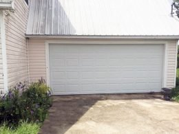 Wind Loaded Garage Door Installation In Panama City