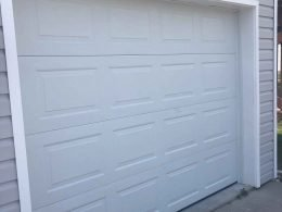 Port Saing Joe - Hurricane Damage Garage Door Replacement